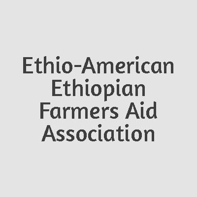 Ethio-American Ethiopian Farmers Aid Association