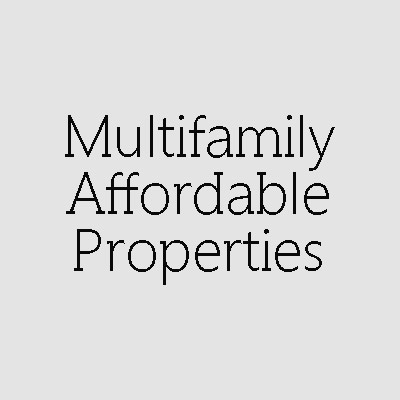 Multifamily Affordable Properties